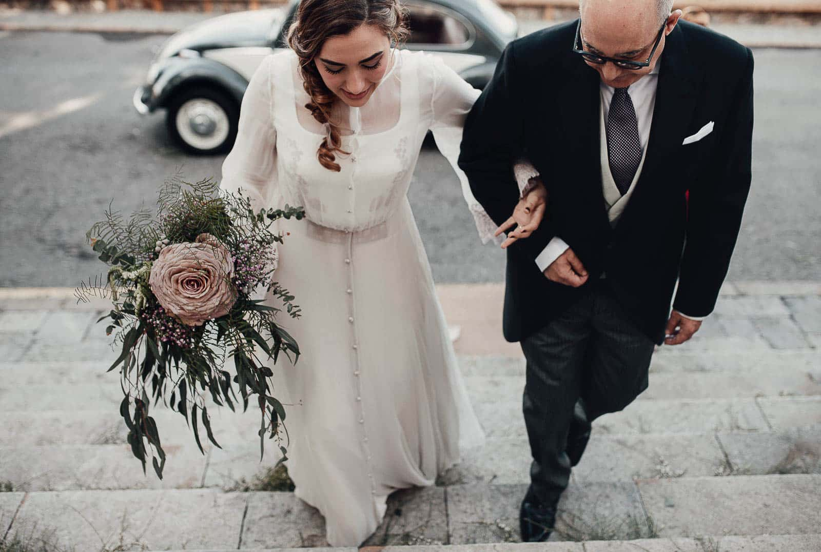 entrada novia y padrino santuario