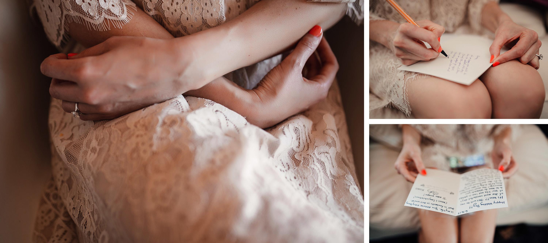 detalles novia manicura tarjeta anillo encaje