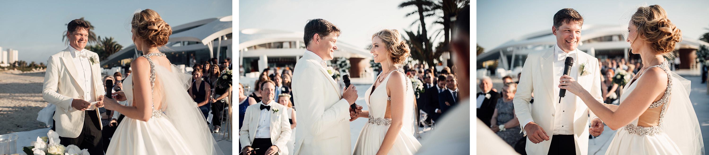 enlace novios discurso votos wedding