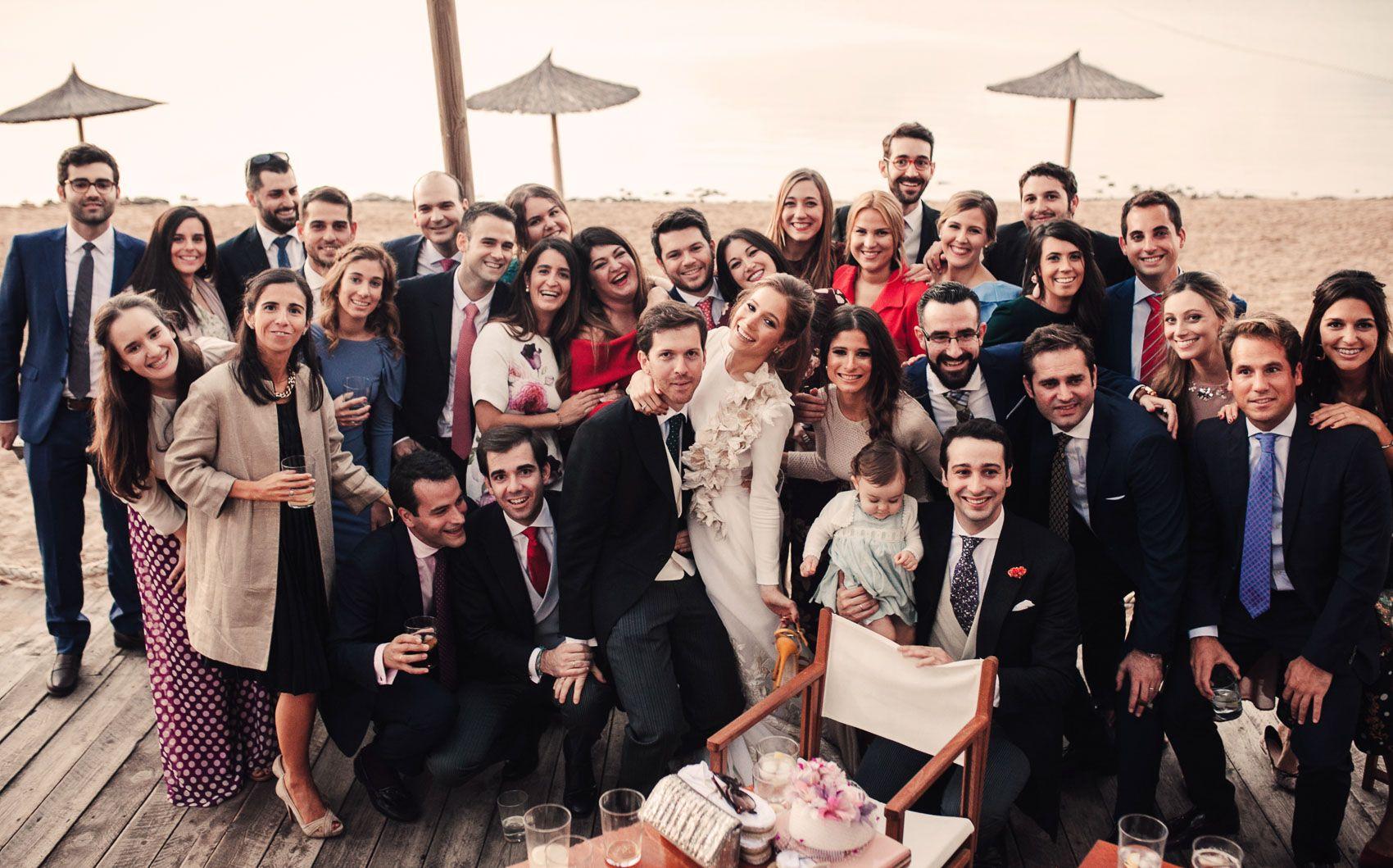 fotografia grupo boda