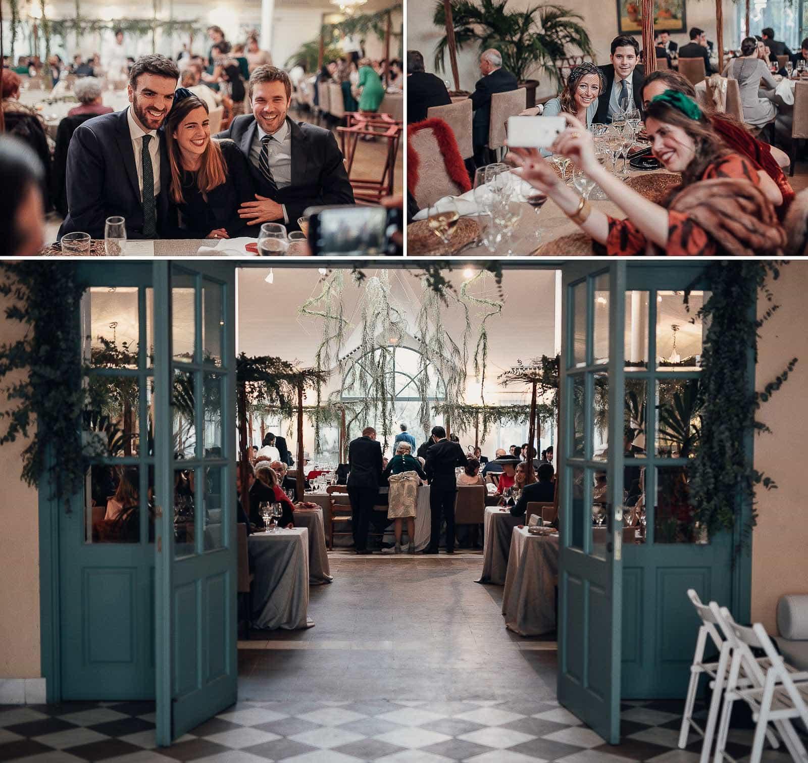 mesas restaurante invitados ambiente