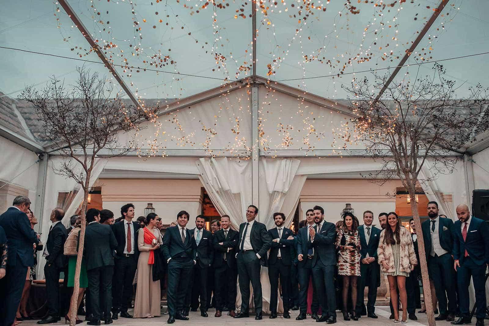 boda invitados decoracion ambiente