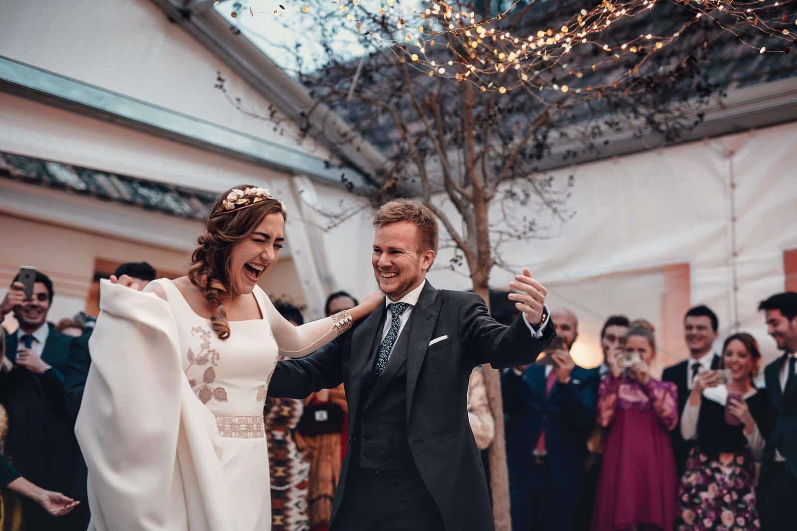 baile nupcial boda novios pareja