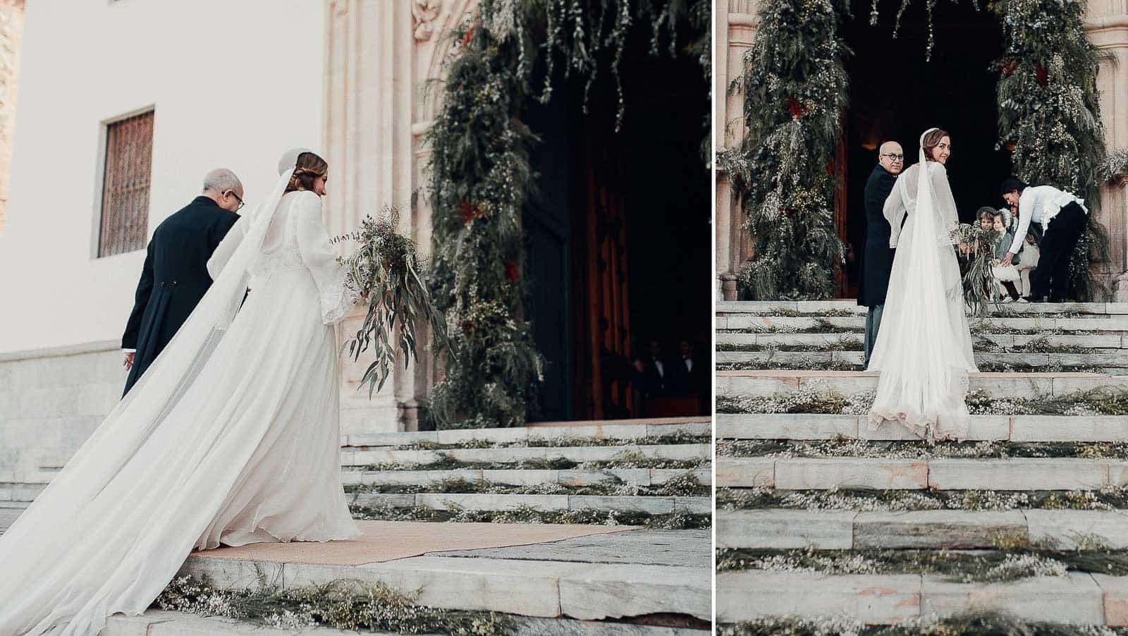 entrada novia santuario