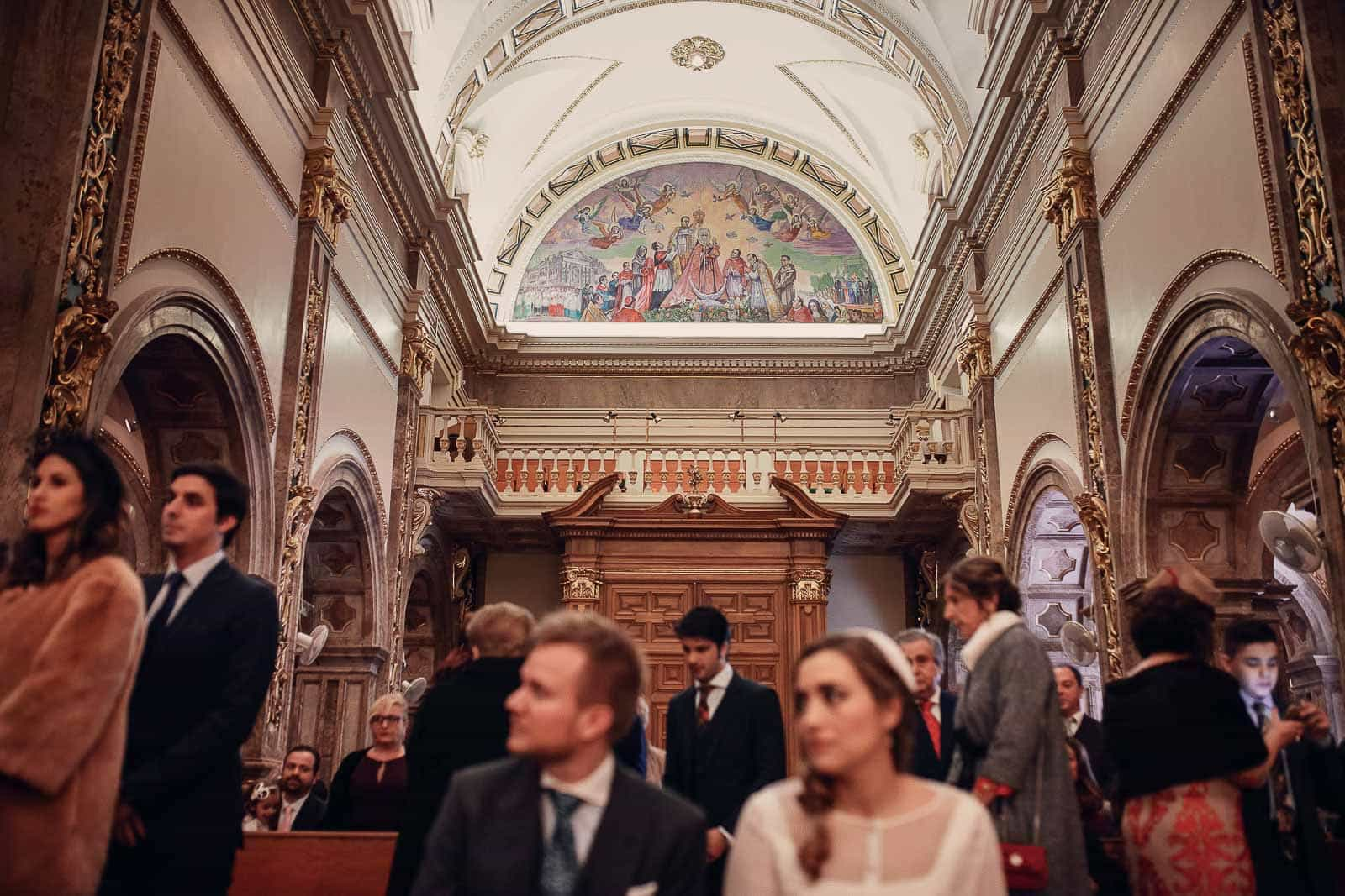 santuario novios invitados cupula iglesia