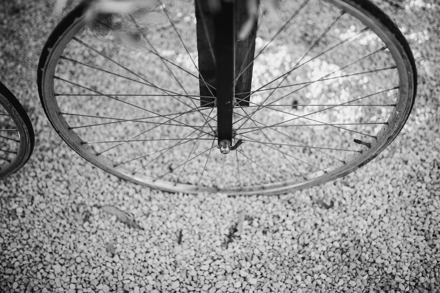 detalle rueda bicicleta wedding photography