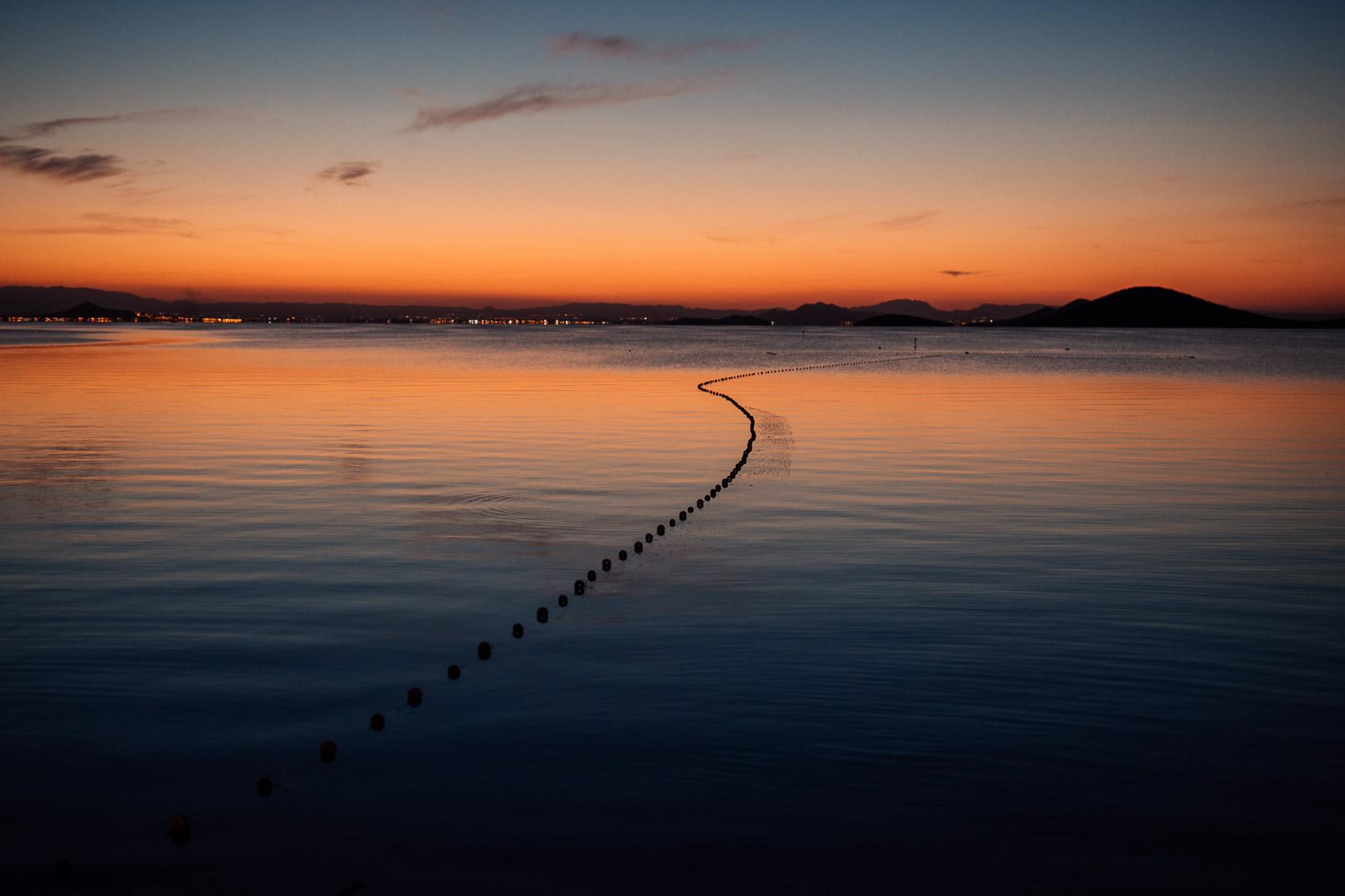 atardecer manga vista mar luces colores photography