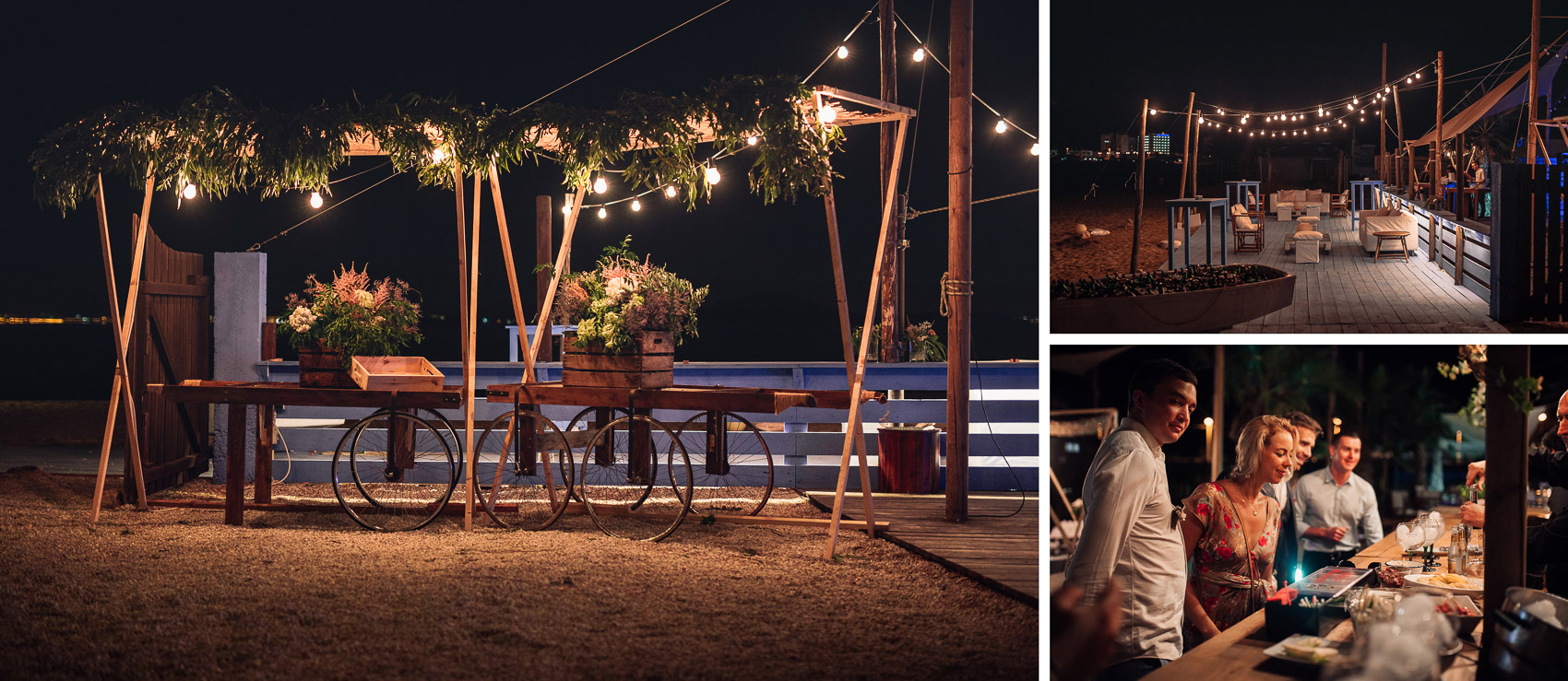 decoracion boda valisse detalles invitados luces beach