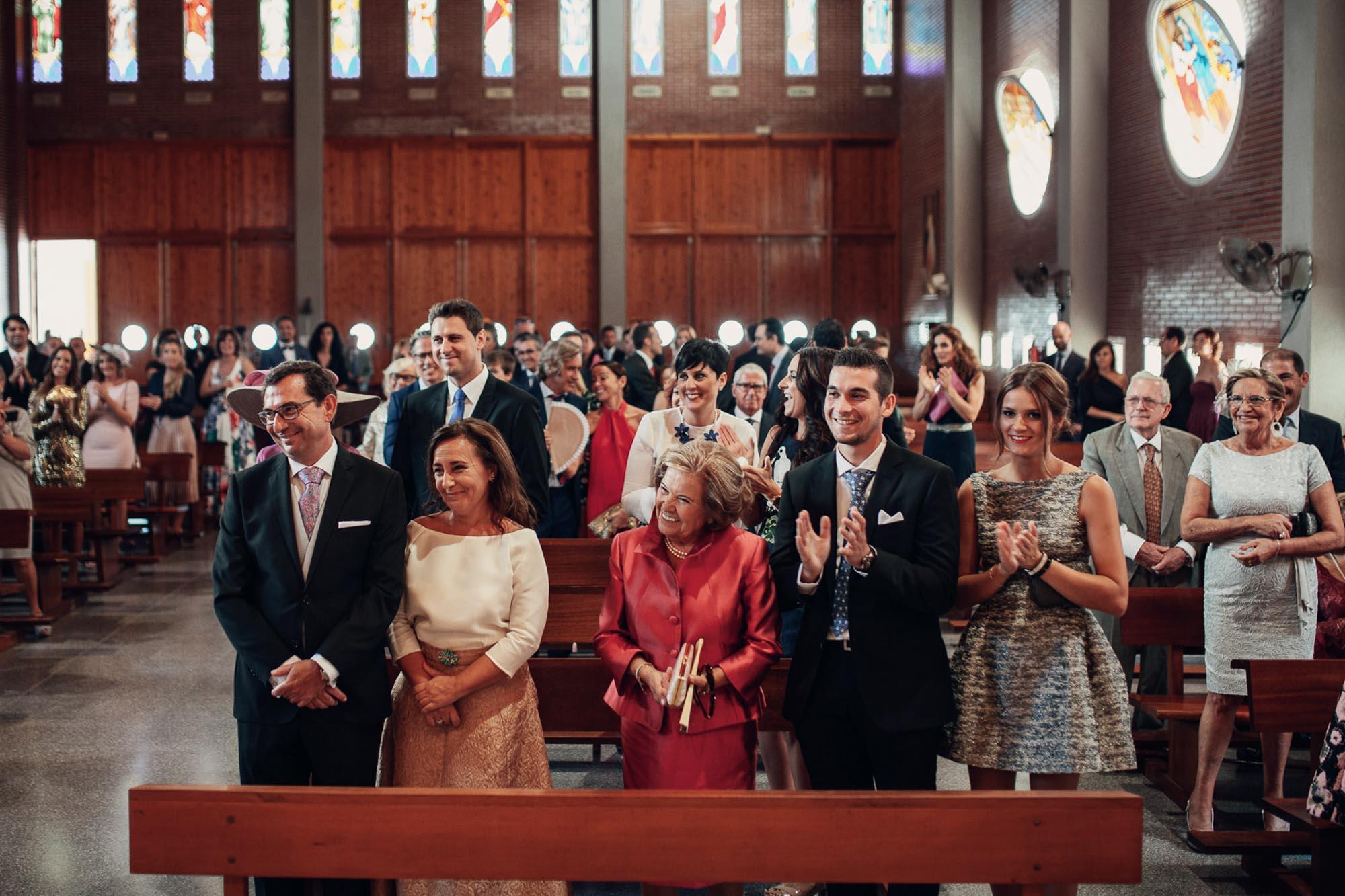invitados iglesia wedding cabo de palos fotografia