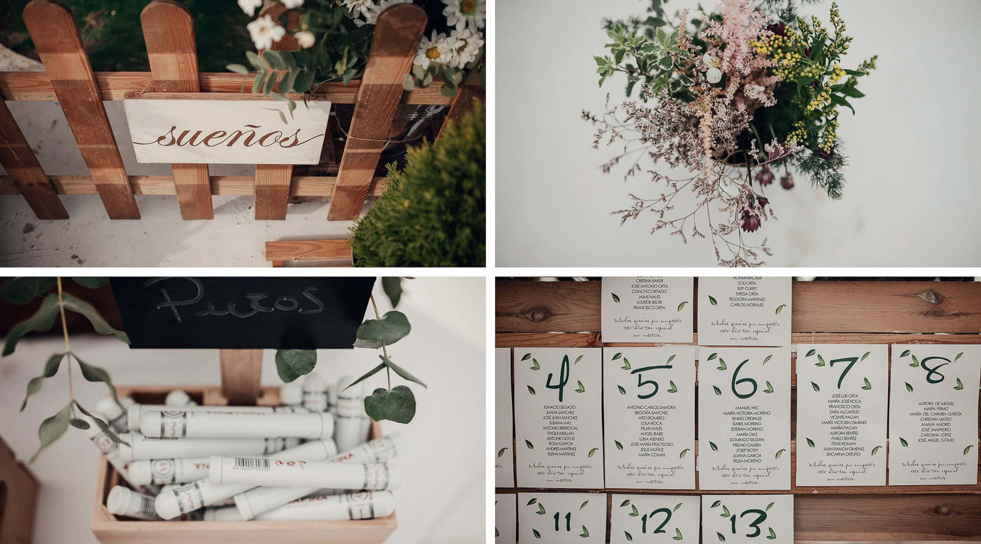 Decoración wedding valisse playa cabo de palos menus invitacion flores fotografia restaurante