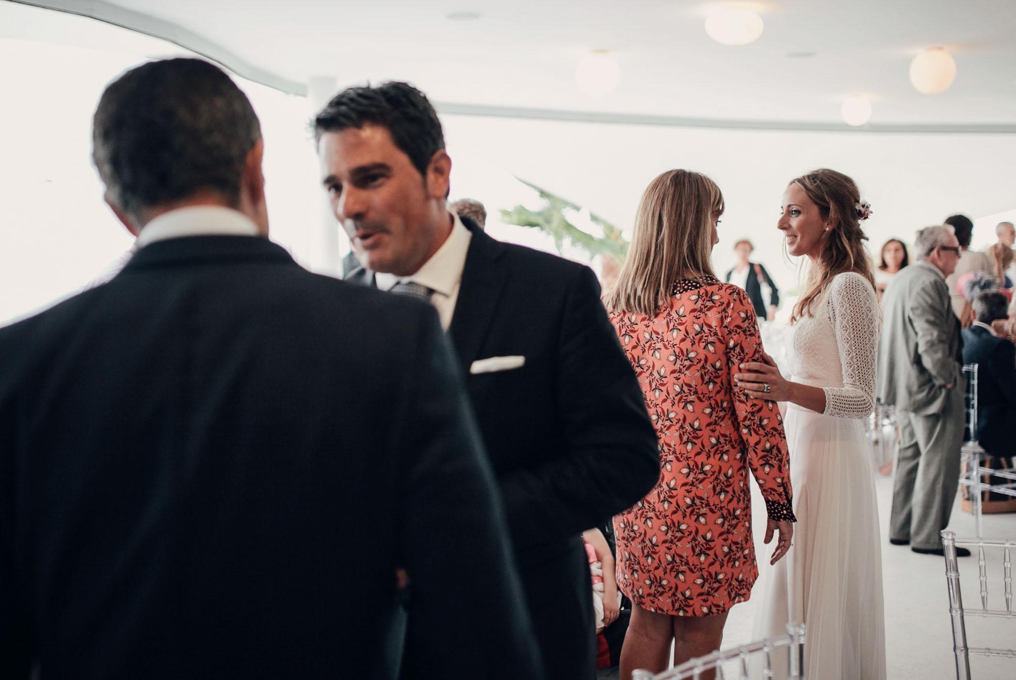 baile nupcial wedding novios invitados Cabo de Palos fotografia