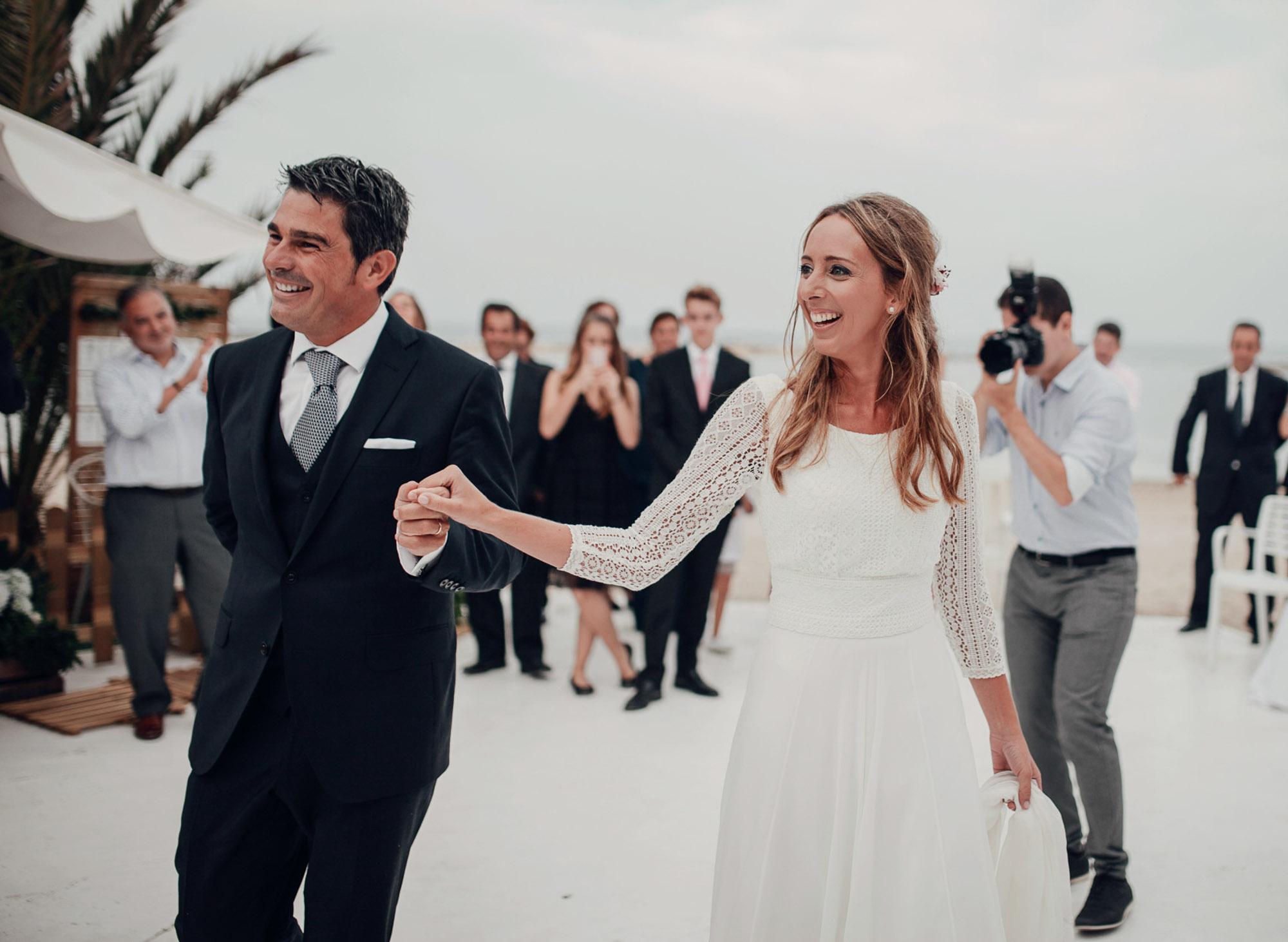 baile nupcial wedding novios Cabo de Palos fotografia