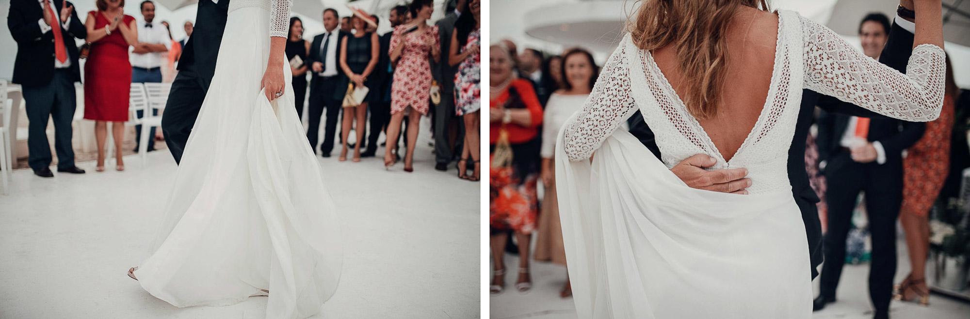 baile wedding novia vestido Cabo de Palos fotografia
