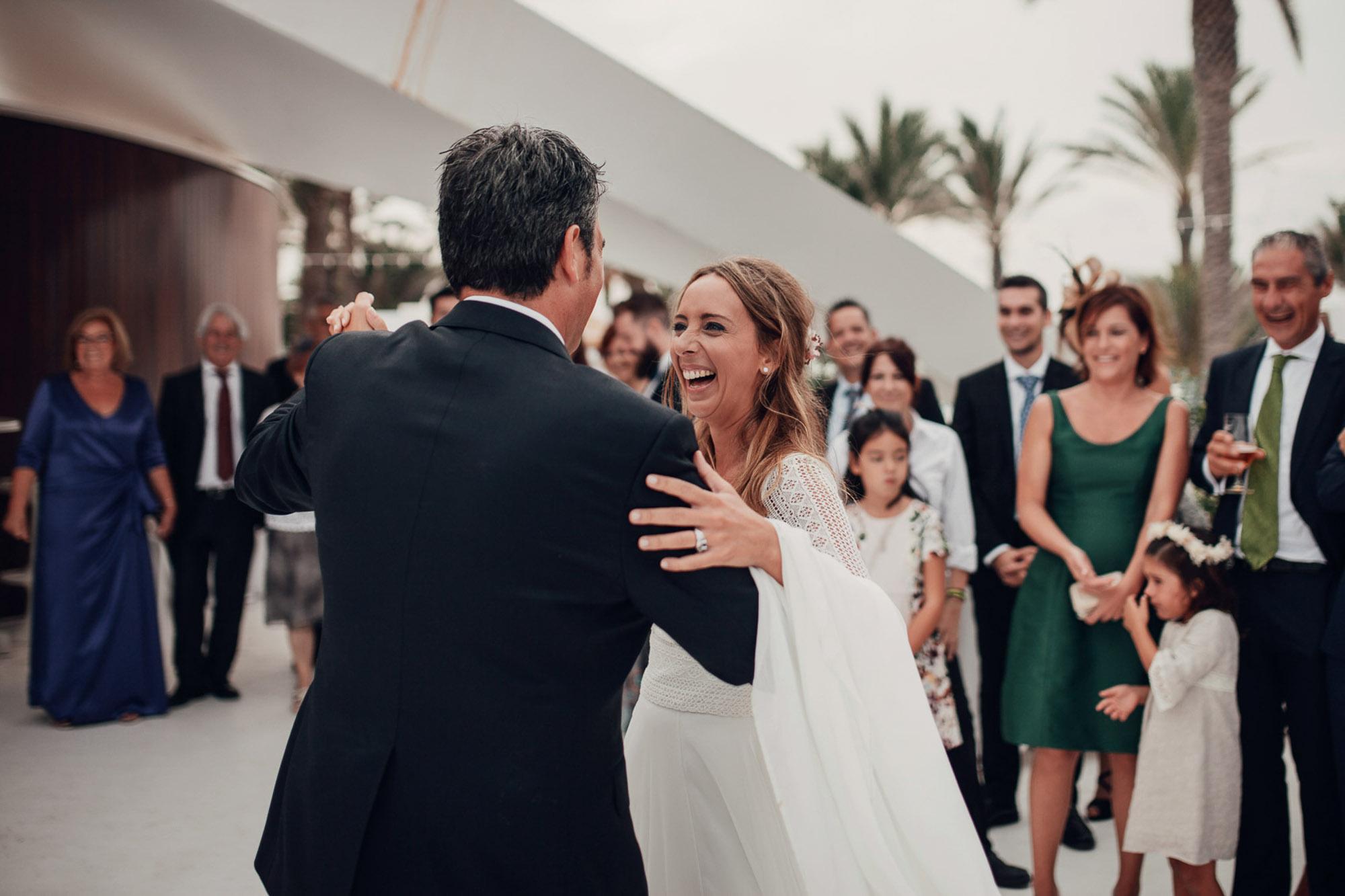 baile nupcial wedding novios detalle alianza Cabo de Palos fotografia
