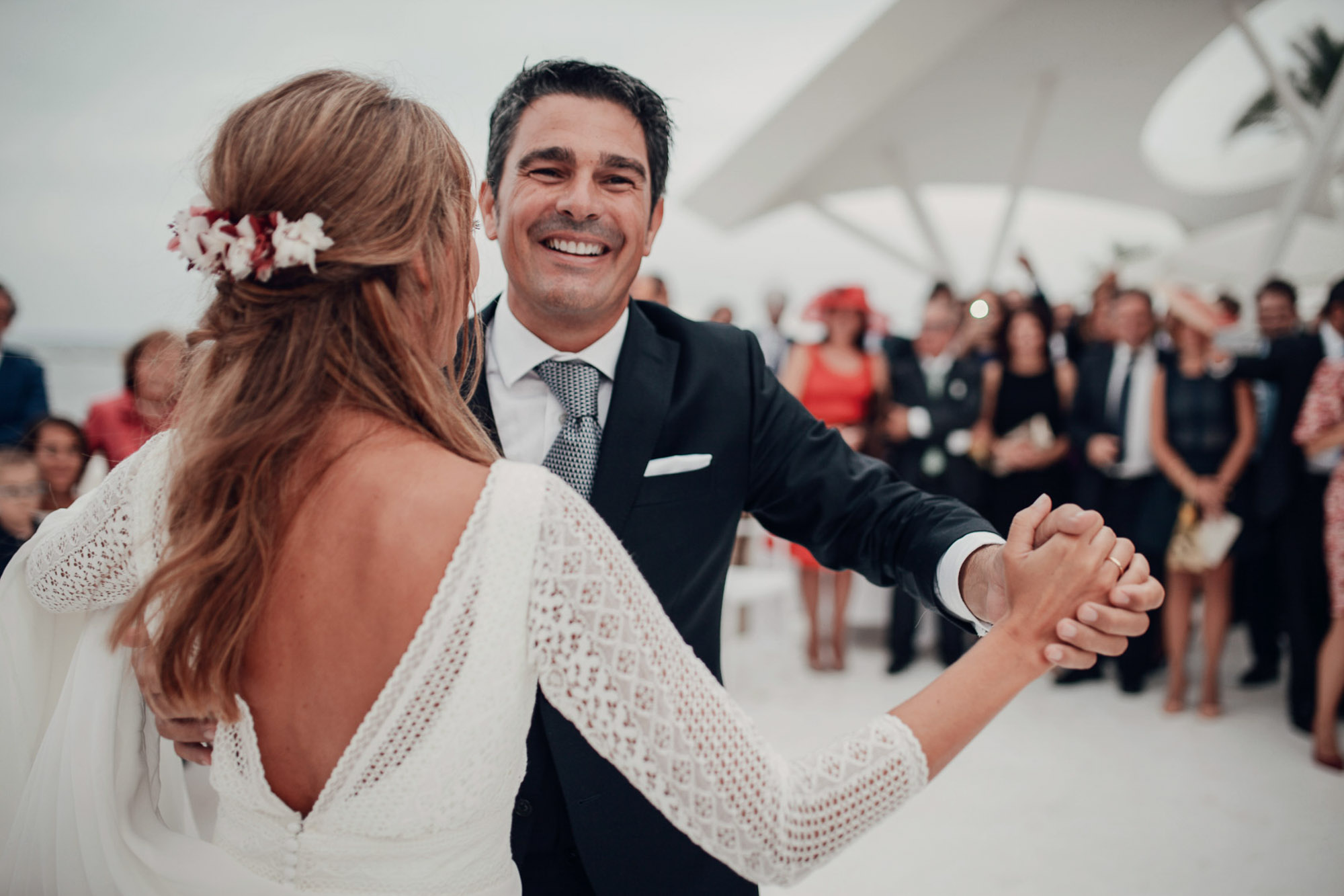 baile nupcial wedding novios detalle Cabo de Palos fotografia