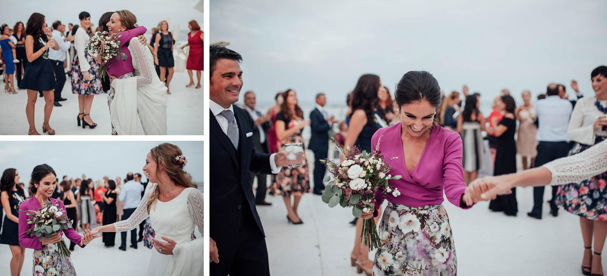 ramo flores Cabo de Palos invitados wedding fotografia