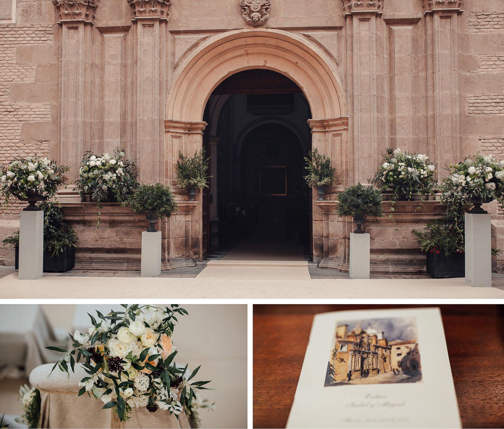 detalles iglesia decoracion valisse flores pedro navarro