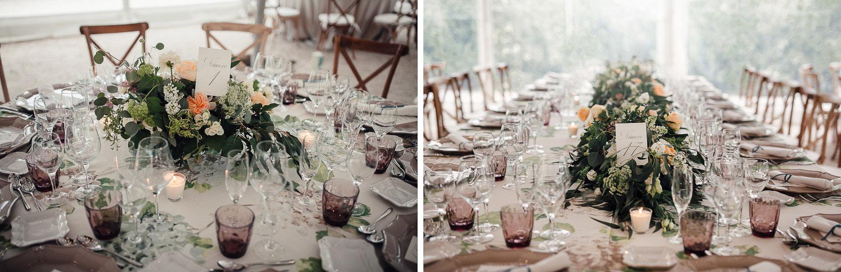 decoracion parque mesas flores detalle valisse