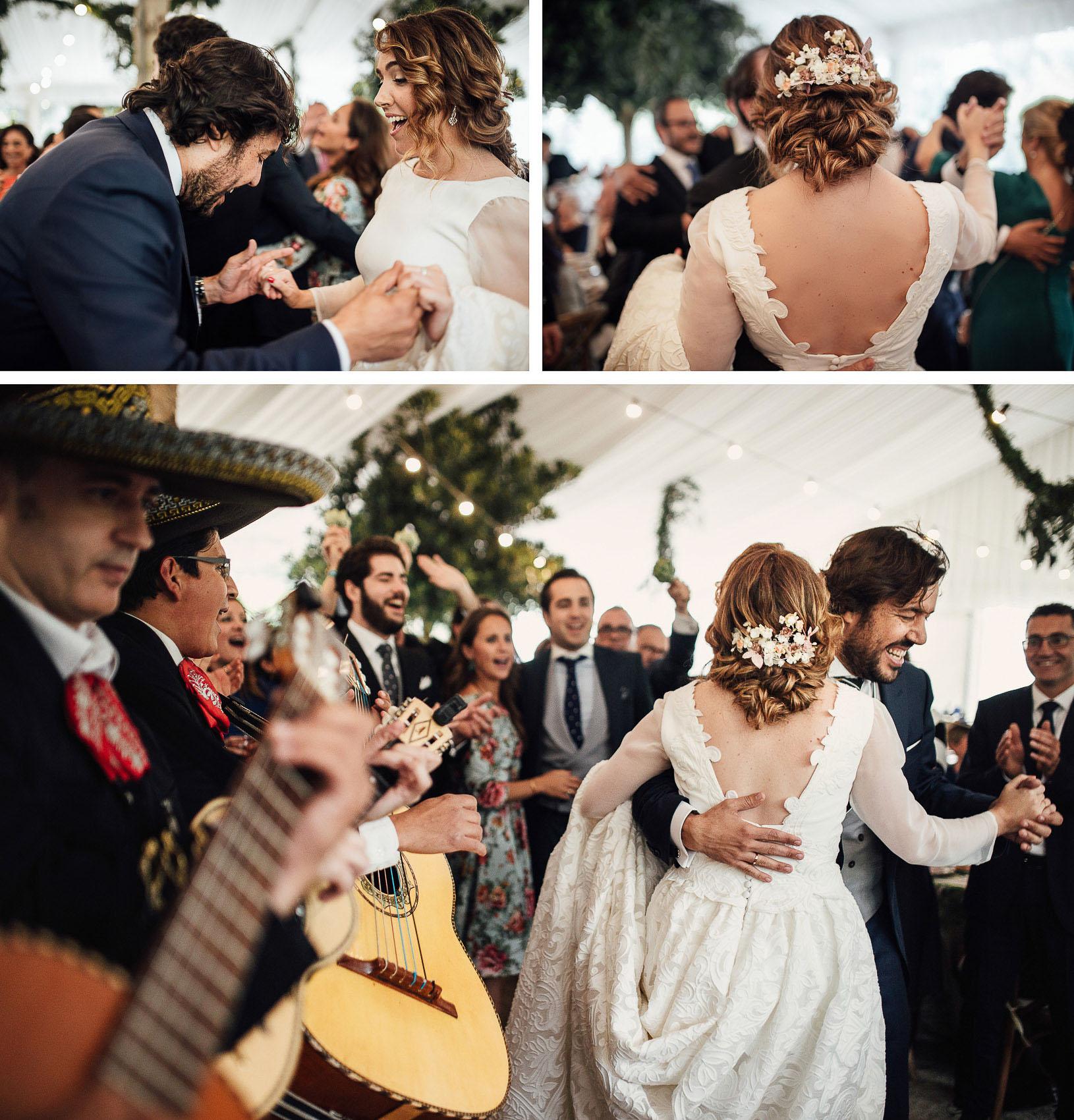 fiesta novios baile musica directo mariachis