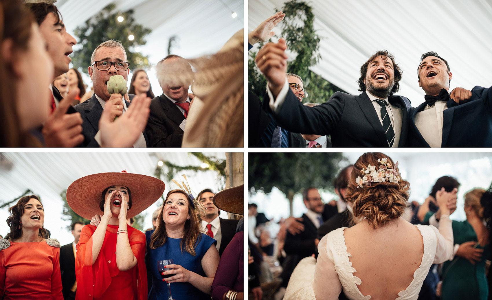 invitados perfectos boda baile fiesta tocados outfit