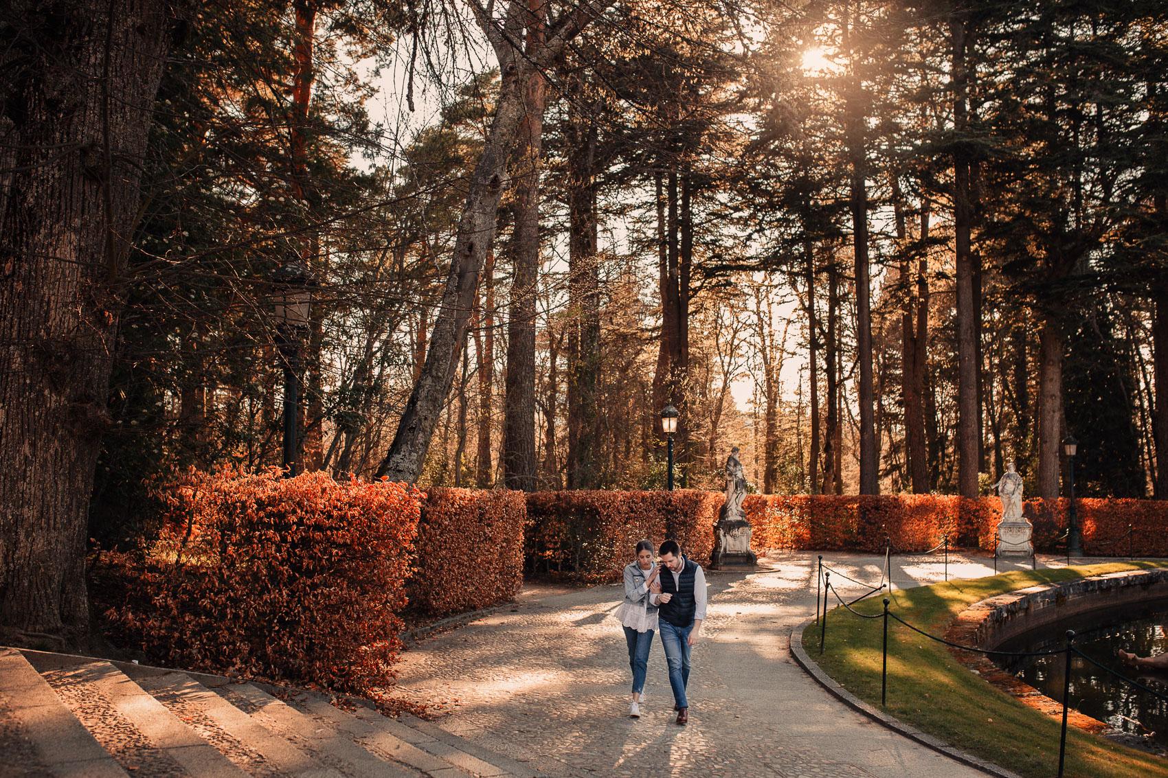 Jardines del Escorial Segovia Madrid