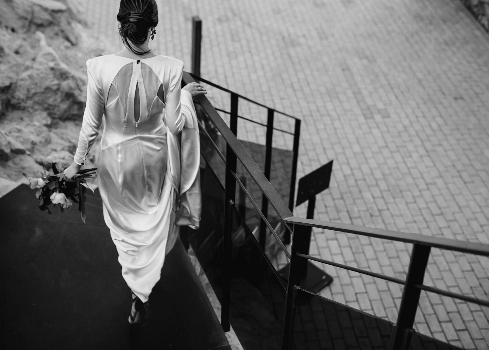 vestido novia marcela mansergas