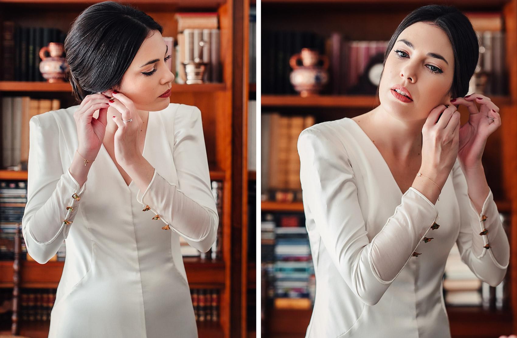 Vestido Marcela Mansergas novia