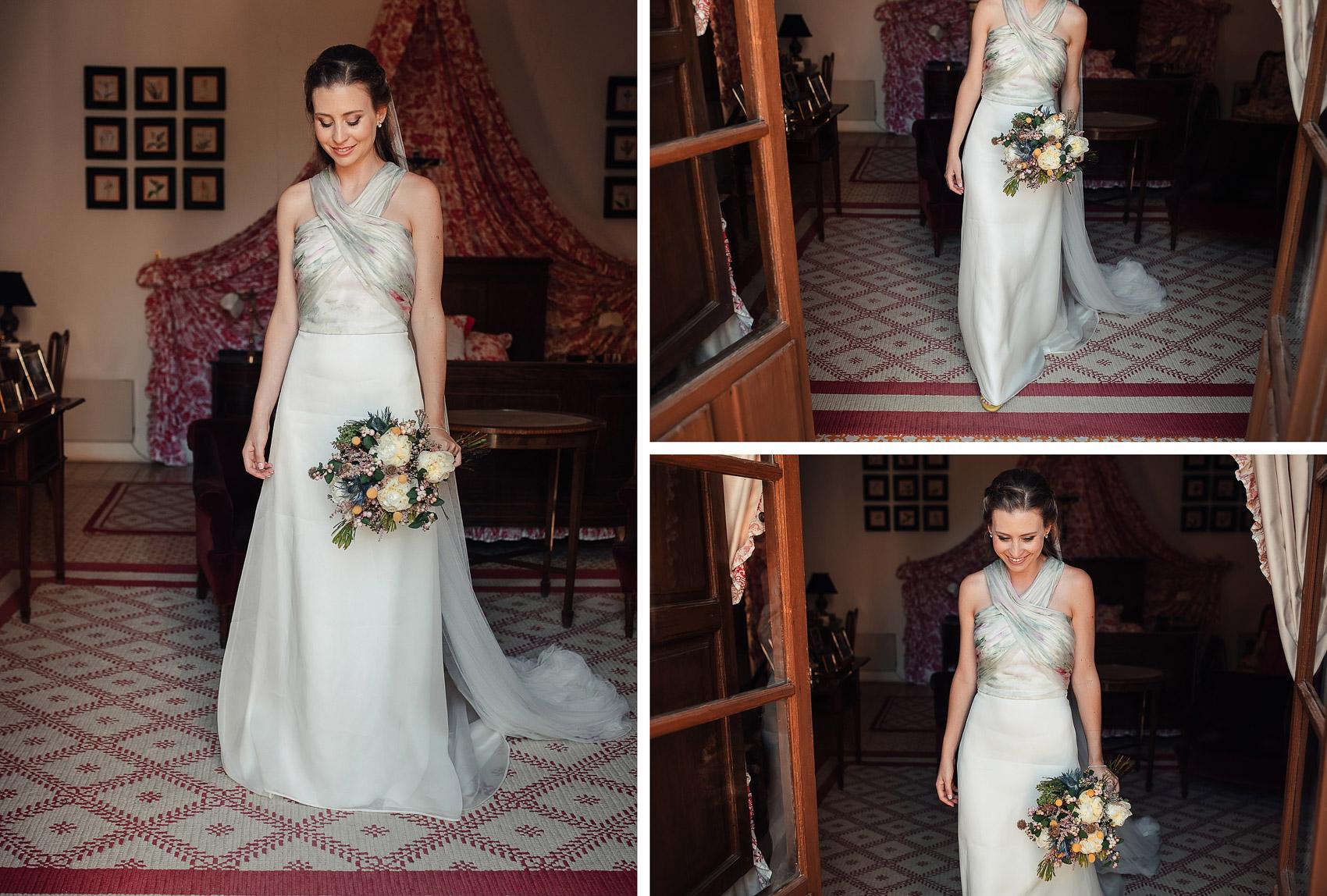 Vestido novia oh que luna
